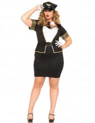 Costume Pilota donna taglie forti