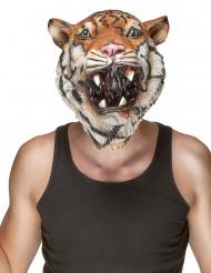 Maschera in lattice tigre per adulto.