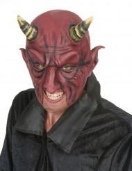 Mezza maschera demone malefico adulto Halloween