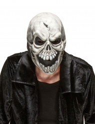 Maschera da scheletro spaventoso adulto Halloween