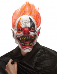 Maschera integrale da clown infernale