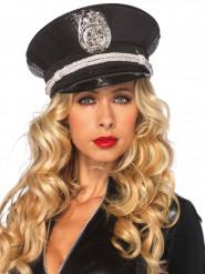 Image of Cappello poliziotto adulto