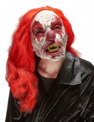 Maschera adulto clown terrificante