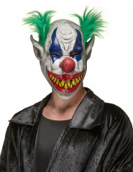 Maschera adulto clown spaventoso Halloween