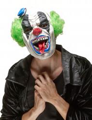Maschera da clown di Halloween