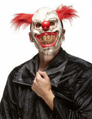 Maschera clown assassino malefico adulto Halloween