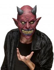 Maschera in lattice diavolo adulto Halloween