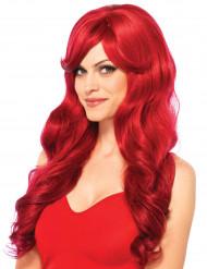 Parrucca lunga rossa adulto