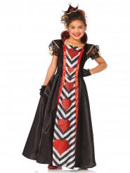 Costume regina di cuori bambina