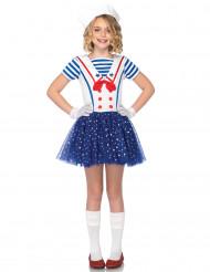 Costume marinaio con stelle per bambina
