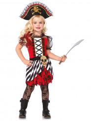 Costume Pirata con cappello per bambina