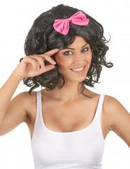 Parrucca nera da bambola donna