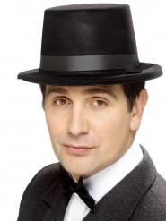Cappello a cilindro di colore nero da uomo