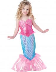 Travestimento sirena bambina in rosa - Premium