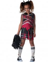 Costume ragazza pom pon zombie bambina