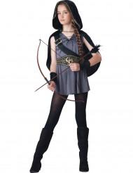 Costume Cacciatrice per bambina- Premium