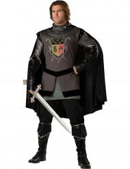 Costume Cavaliere Nero uomo - Premium