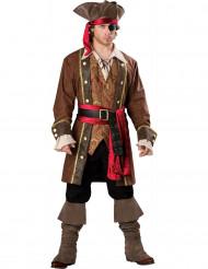Costume da capitano pirata da uomo Premium