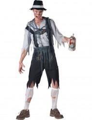 Travestimento zombie bavarese uomo - Premium