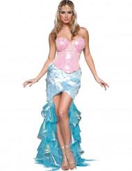 Costume Sirena affascinante per donna - Premium