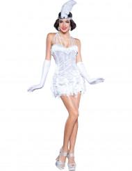 Costume ballerina di Charleston argento donna - Premium