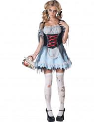 Costume Zombie Bavarese donna