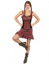 Costume scozzese con Corpetto per donna