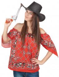 T-shirt Cowboy per donna