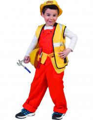 Costume da capo cantiere bambino