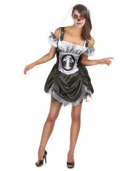 Costume scheletro chic donna Halloween