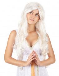 Parrucca donna angelo fili dorati