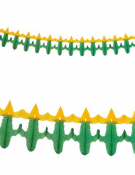 Ghirlanda di carta con cactus