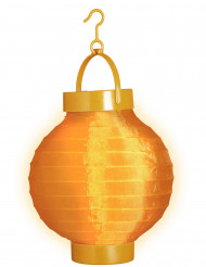 Lanterna luminosa arancione 15 cm