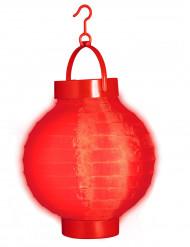 Lanterna luminosa rossa 15 cm
