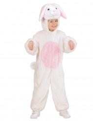 Costume Coniglio bianco e rosa per bambino