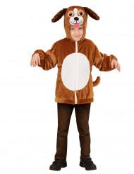 Costume Cane con cappuccio per bambino