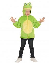 Costume con cappuccio Ranocchio per bambino