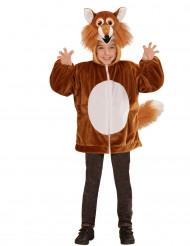 Costume volpe per bambino con cappuccio