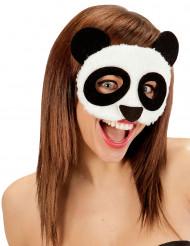 Maschera di pelo Panda per adulto