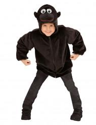 Costume Gorilla con cappuccio per bambino