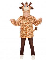 Costume giraffa per bambino con cappuccio