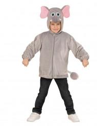 Costume Elefante con cappuccio per bambino