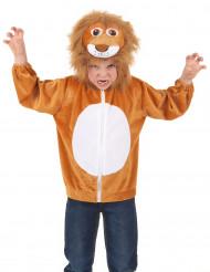 Costume Leone per bambino con cappuccio
