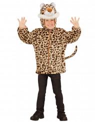 Costume leopardo bambino con cappuccio
