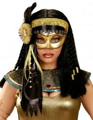 Maschera di Carnevale da antica egizia per donna