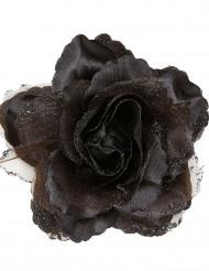 Rosa nera per capelli