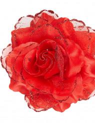Rosa rossa per capelli donna