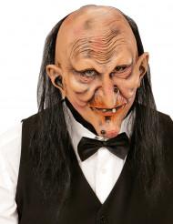 Maschera adulto maggiordomo terrificante