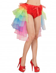 Tutu burlesque multicolore donna