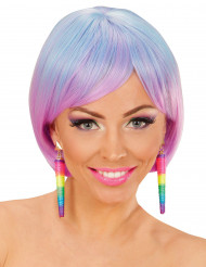Orecchini multicolori donna